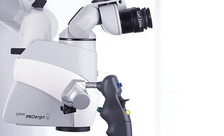 კბილების მკურნალობა მიკროსკოპის ქვეშ